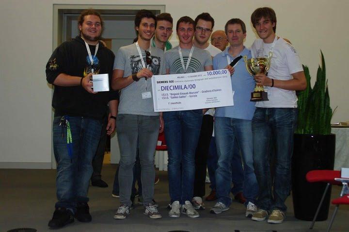 Olimpiadi Autonazione 2012, primo premio 10.000 euro